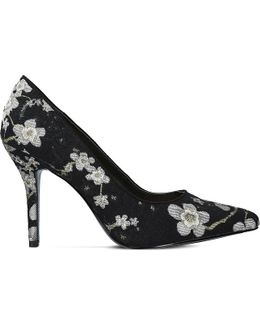 Flagship Floral-embroidered Courts