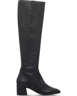 Warsaw Leather Knee-High Boots