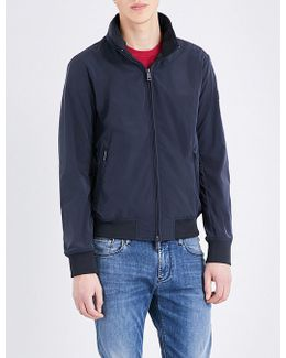 Stand-collar Shell Jacket