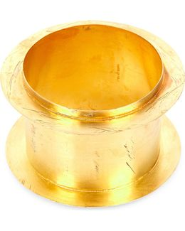Acid-wash Gold-plated Bangle