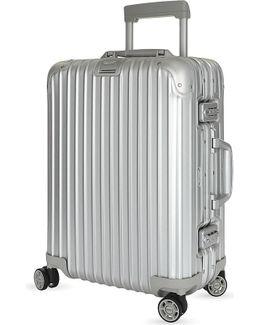 Topas Aluminium Four-wheel Cabin Suitcase 55cm