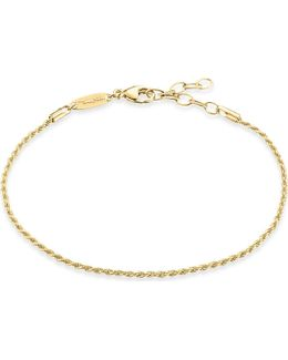 18ct Yellow Gold-plated Chain Bracelet