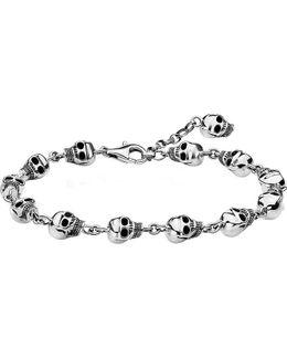 Rebel At Heart Sterling Silver Bracelet