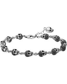 Rebel At Heart Zirconia And Sterling Silver Bracelet
