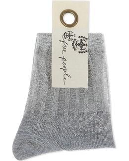 Roseland Lurex Ankle Socks