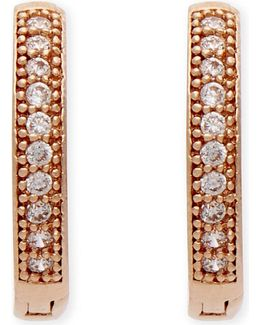 The Perfect One Rose Gold Earrings