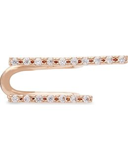 The Two-timer 18ct Rose Gold Ear Cuff