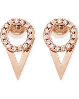Fitzgerald Rose Gold Ear Jackets