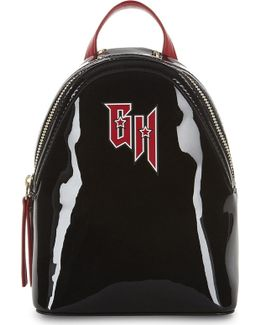 X Gigi Hadid Patent Leather Backpack