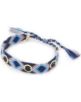 Grommet Studded Friendship Bracelet