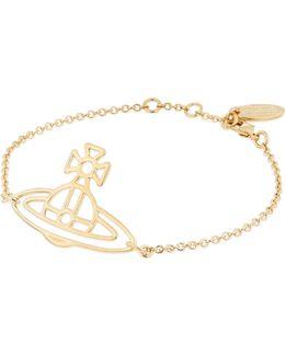 Thin Lines Flat Orb Bracelet