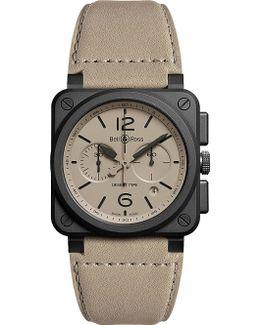 Aviation Br 03-94 Chronographe Desert Type Watch
