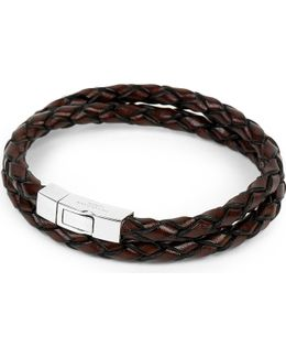 Scoubidou Leather Bracelet