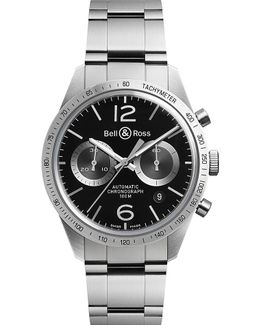 Br V1-26 Vintage Stainless Steel Watch