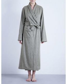 Cashmere Tie-waist Robe