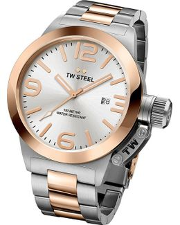 Cb121 Canteen Rose Gold Pvd-plated Stainless Steel Watch
