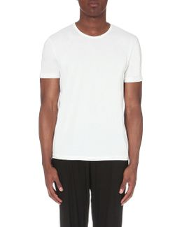 Pack Of Two Crewneck Cotton-jersey T-shirts