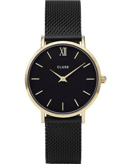 Cl30026 Minuit Stainless Steel Mesh Watch