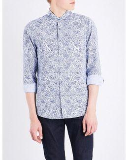 Charles-print Cotton Shirt