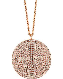 Large Icon 14ct Rose Gold Pendant
