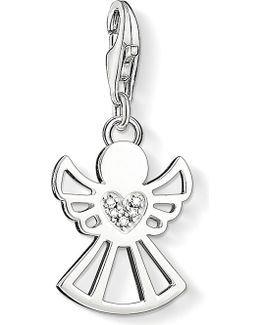 Charm Club Angel Diamond Pendant