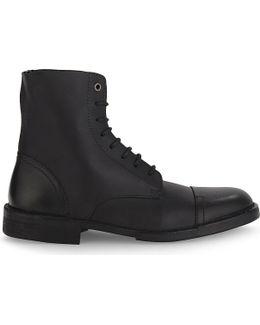 D-pit Leather Boots