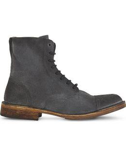 D-pit Suede Boots