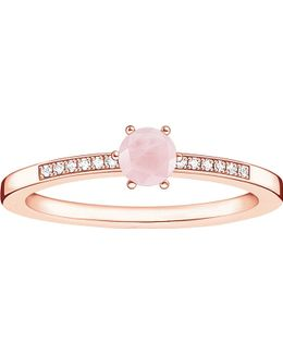 Glam & Soul 18ct Rose Gold-plated