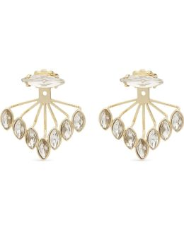 Ladies Glamour Crystal Ear Jackets
