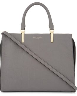 Emma Grained Leather Tote