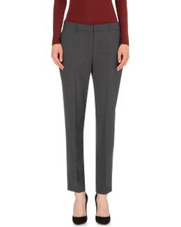 Testra Tapered Wool-blend Trousers