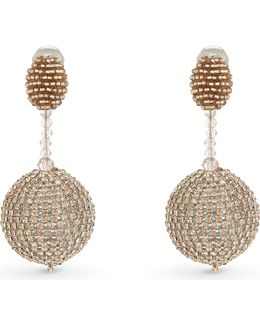 Sorbet Beaded Drop Earrings