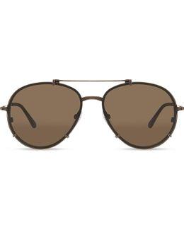 Dickon Tf527 Aviator Sunglasses