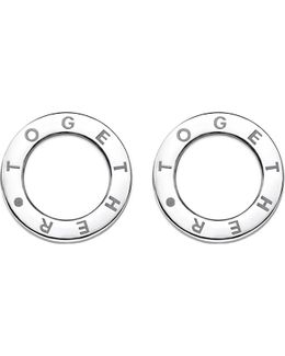 Together Sterling Silver Earrings