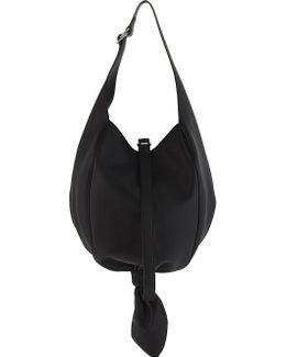 Knot Leather Hobo Bag