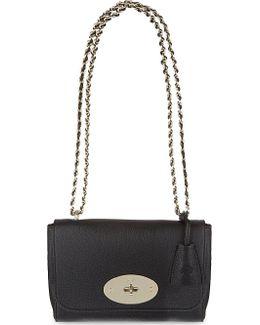 Mini Lily Embossed Shoulder Bag, Women's, Black