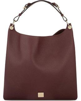 Freya Leather Hobo Bag