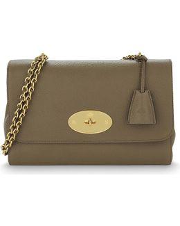 Lily Medium Leather Shoulder Bag