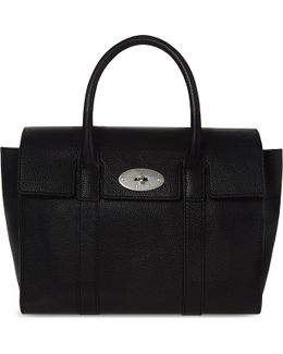 Bayswater Small Grained Leather Tote