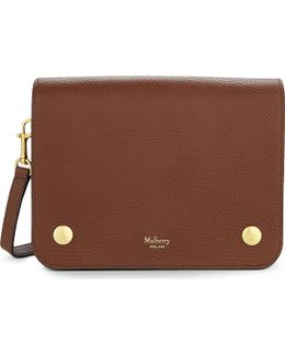 Clifton Grained Leather Cross-body Bag