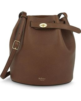Abbey Leather Bucket Bag