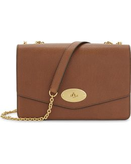 Darley Large Grained Leather Cross-body Bag
