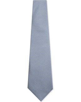 Silk Diamond Hopsack Tie
