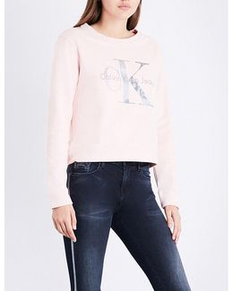 True Icon Cotton-jersey Sweatshirt