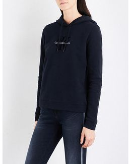Honor True Icon Cotton-jersey Hoody