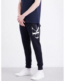 Haro True Icon Logo-detail Cotton-jersey Jogging Bottoms