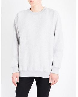 Oversized Cotton-blend Sweatshirt