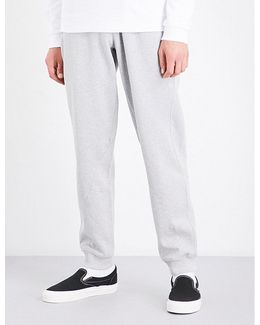 Hyper Tapered Cotton-jersey Jogging Bottoms