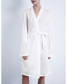 Short Jersey Robe