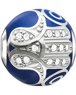 Karma Beads Fatima's Hand Sterling Silver Bead